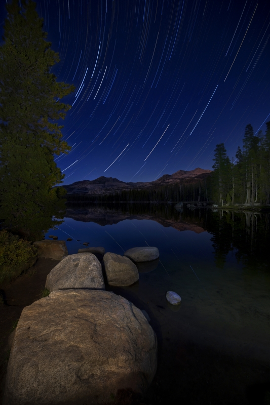 Wrights Lake Star Trails