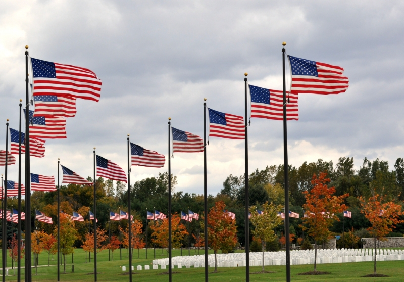 Avenue Of Flags