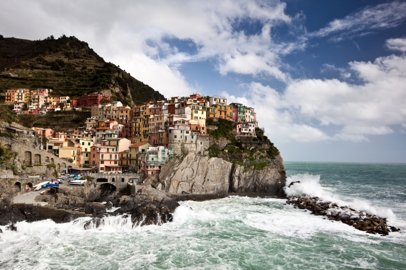 Rough Seas In Manarola