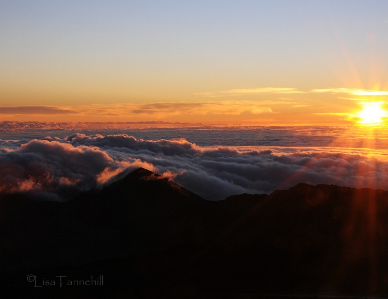 Sunrise From Haleakala Rim