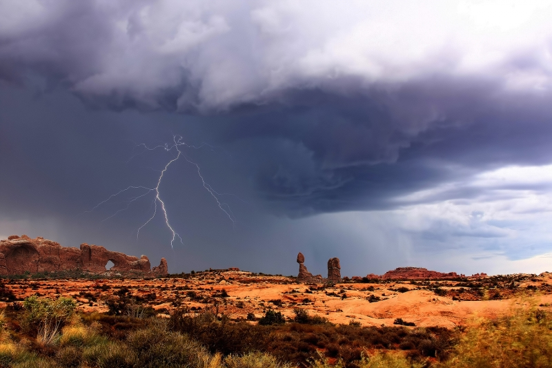 Lightning In Moab