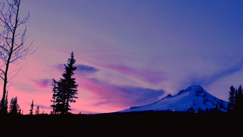Mt. Hood After Sunset