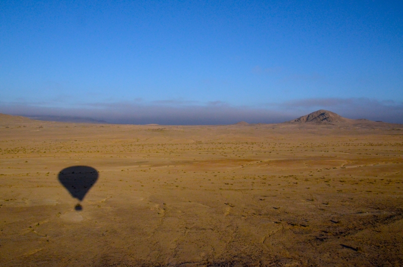 Air Balloon Over The Namib Desert