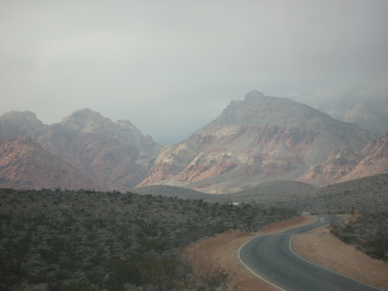 Rainy Red Rock