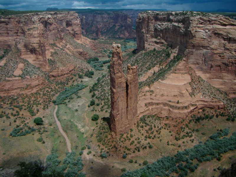 Overview Of Spider Rock