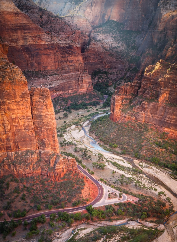 Zion Canyon Sunrise
