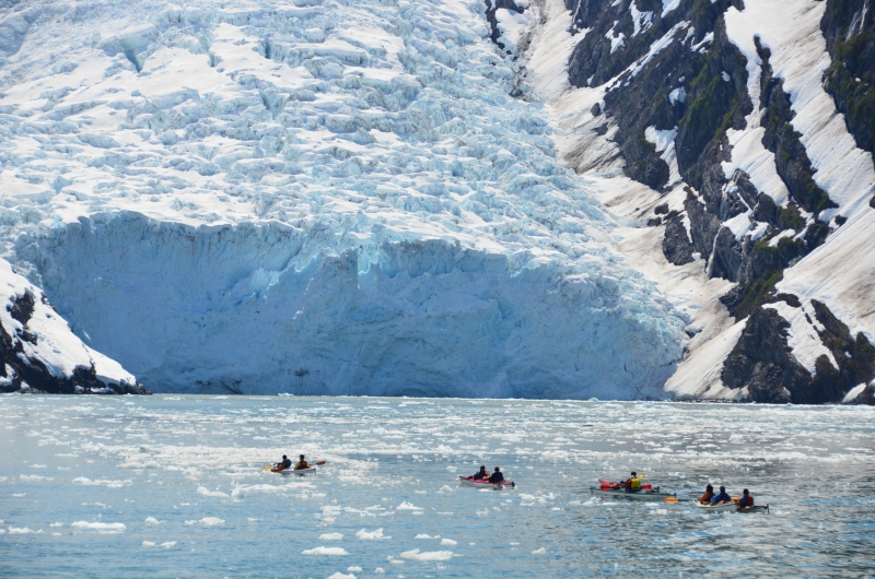 Kayaking At Beloit Glacier