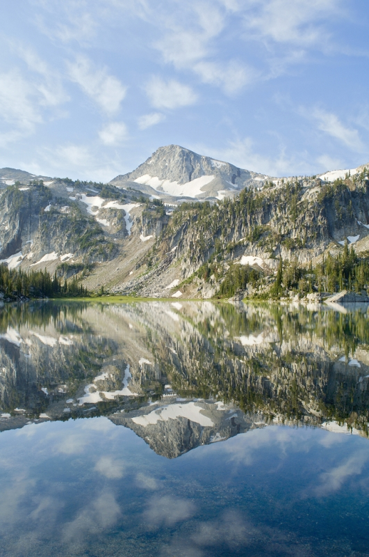 Eaglecap Peak And Mirror Lake