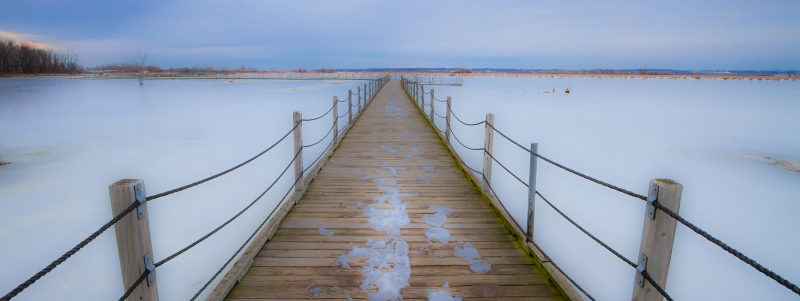 Cold Boardwalk