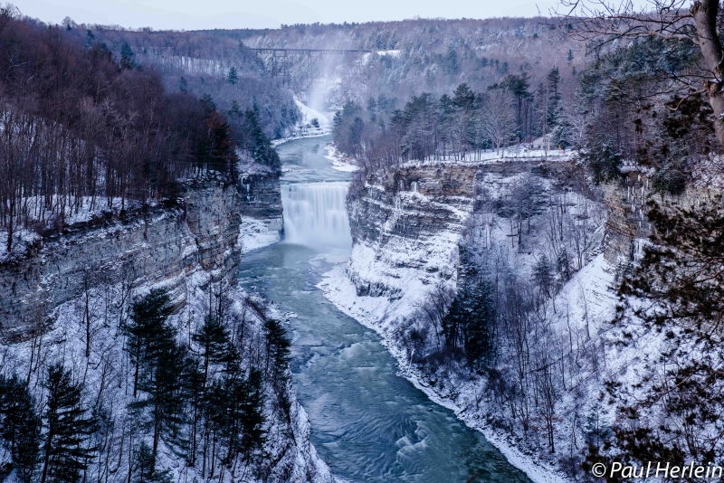 First Light At Letchworth