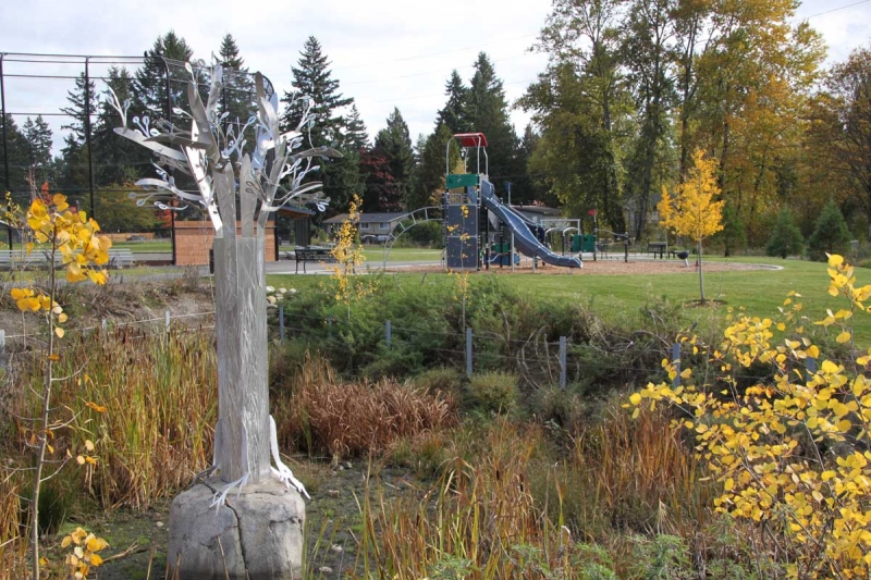 Sculpture Tree With Playground