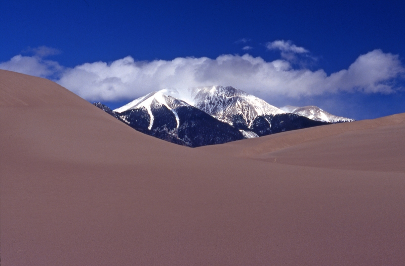 Sangre De Cristo Mountains, Great Sand Dunes