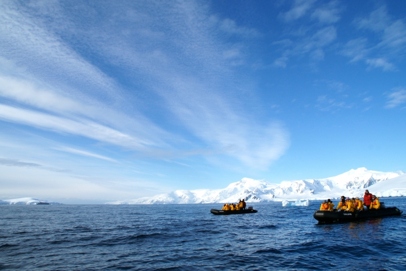 Drifting The Southern Ocean