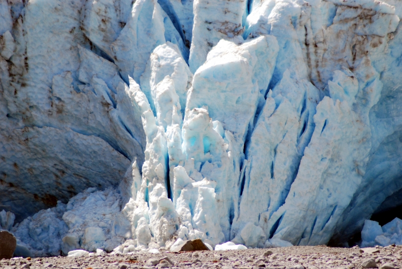 Face In The Glacier