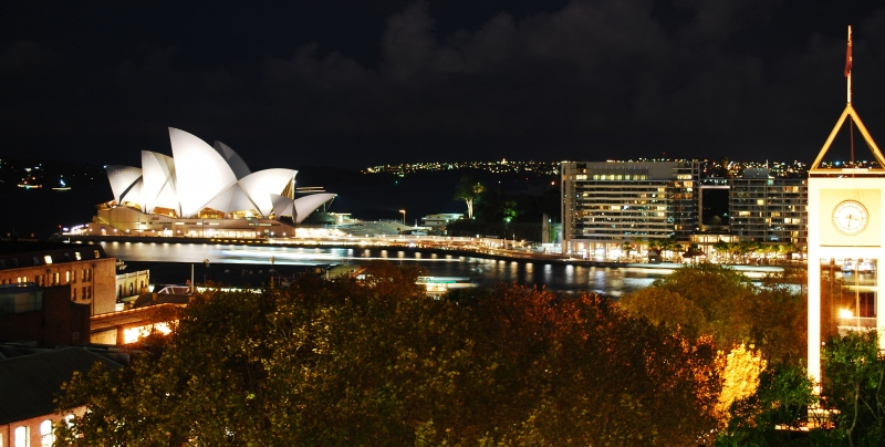 Sydney Opera House@ Night