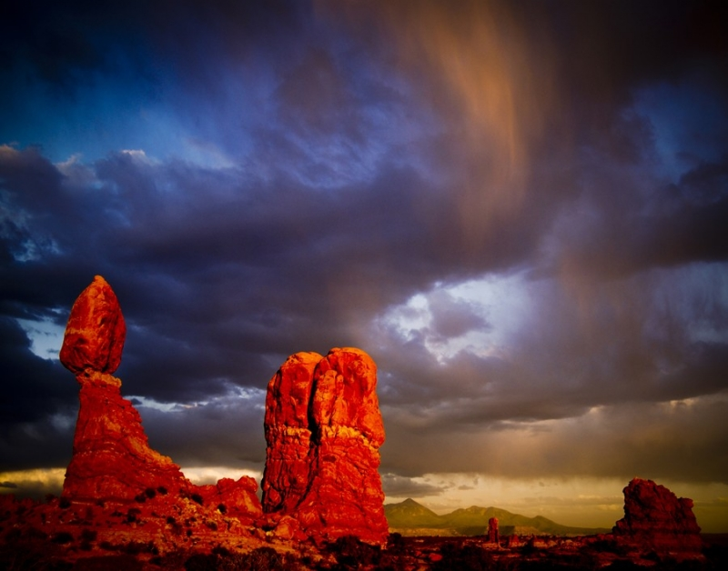 Balanced Rock Skyscape