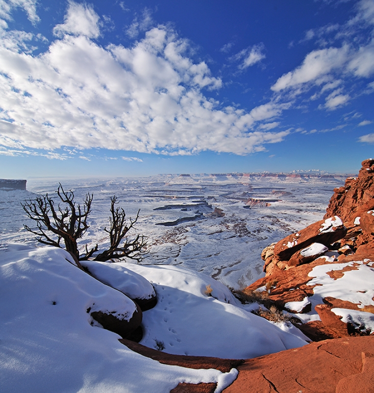 Green River Overlook In Winter