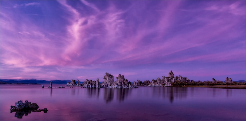 Twilight, Mono Lake.
