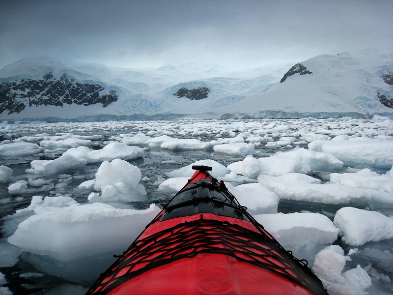 Antarctic Kayak