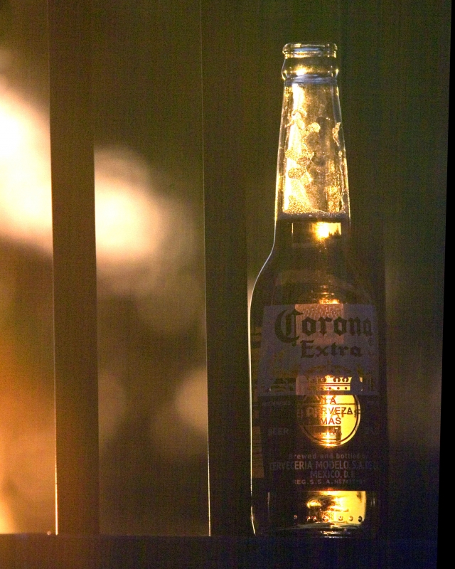Corona At Sunset