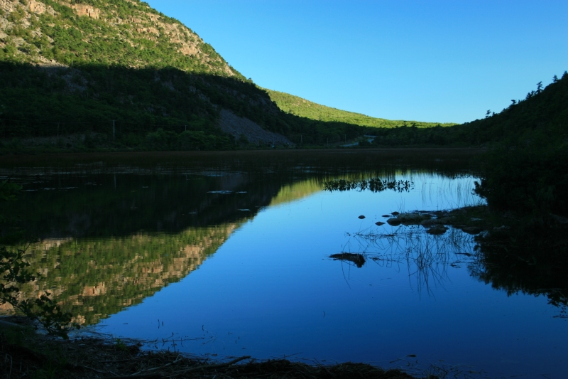 The Tarn Reflection