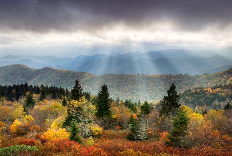 Enlightenment – Blue Ridge Parkway Sunset