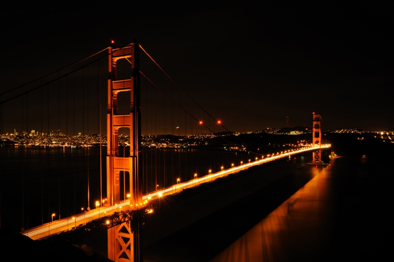 Late Night At Golden Gate