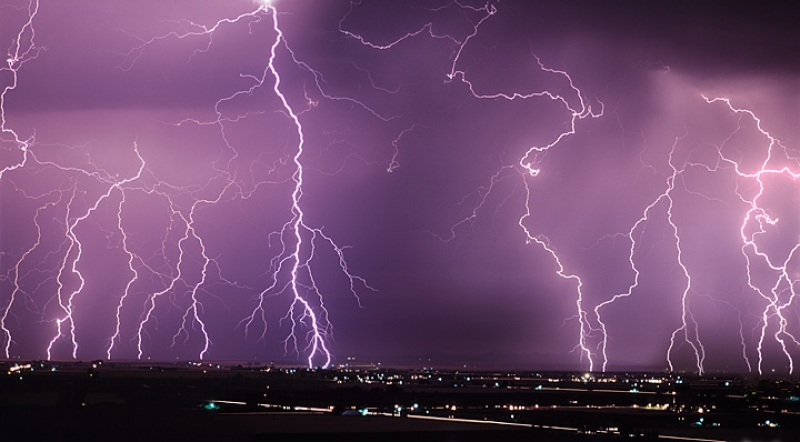 Lightning Panoramic