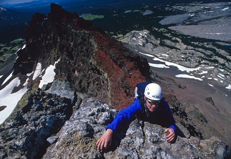 One Last Move, Broken Top, Oregon