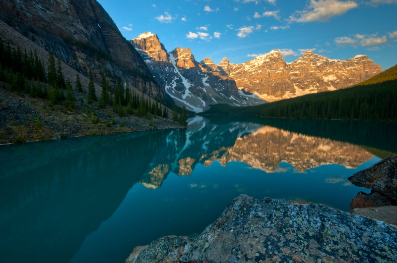It Is Well (a Moraine Lake Morning)