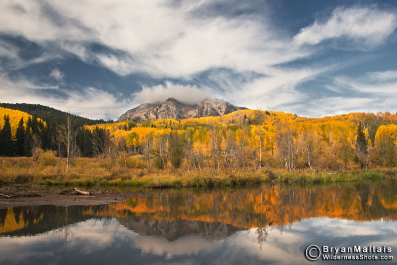 Mt. Beckwith Reflection