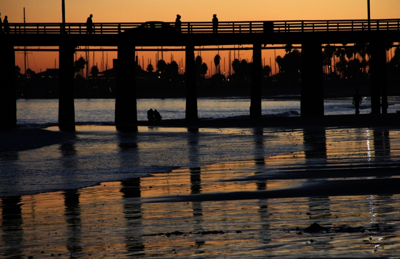 Stearns Wharf Sunset