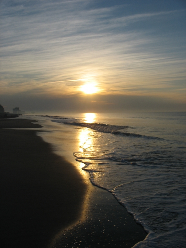 Sunrise At Myrtle Beach