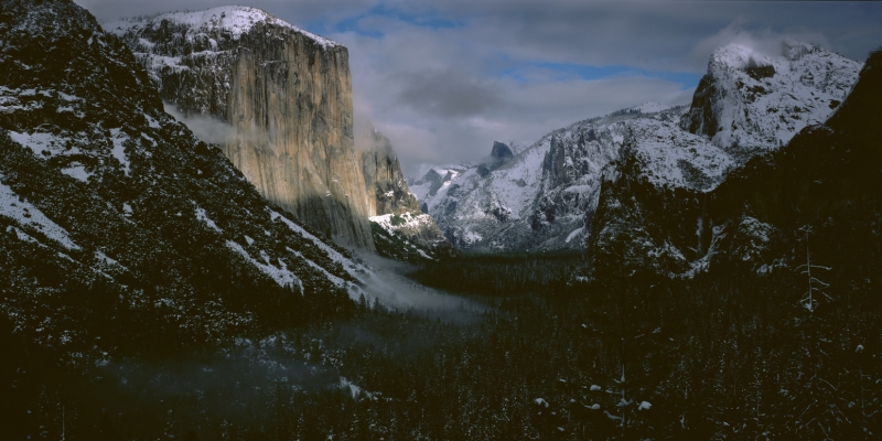 Yosemite Valley After Snow Storm