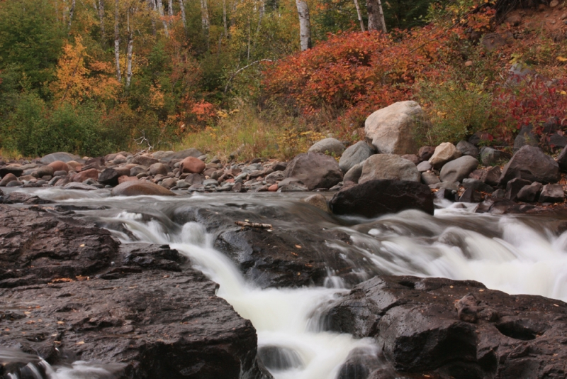 Autumn On The Temperance River