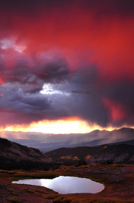 Cottonwood Pass Sunset