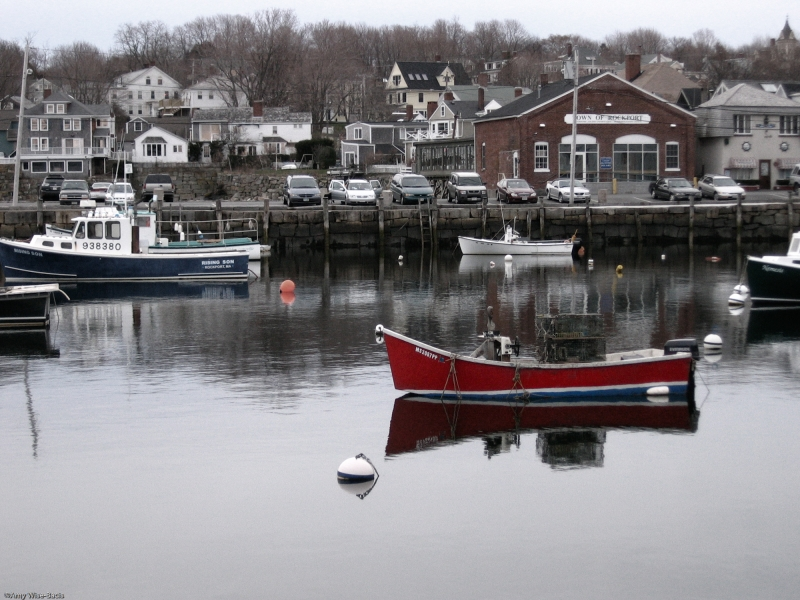 Seaside Town Of New England