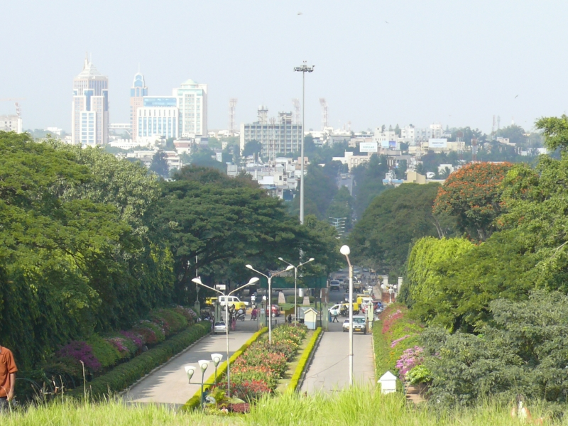 Bangalore From Lalbagh