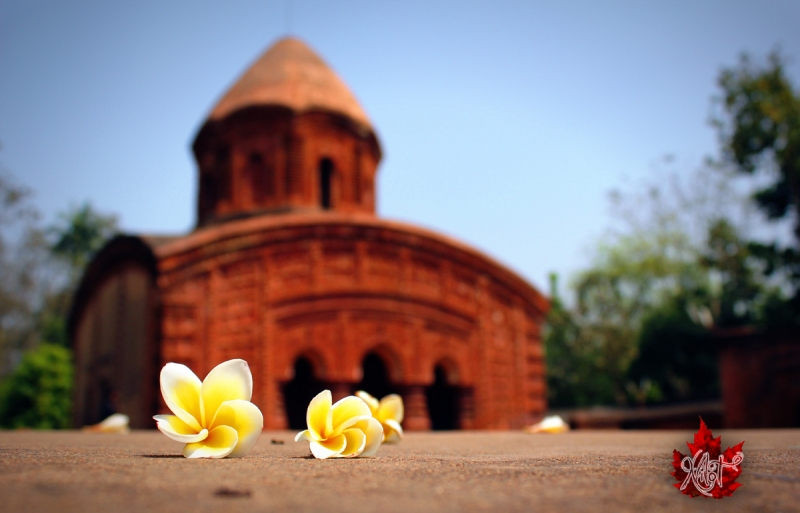 Temple With Flower