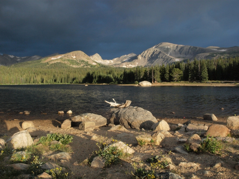 Sunrise At Brainard Lake