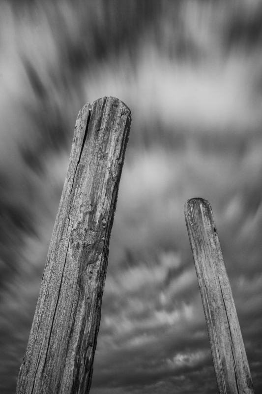 Storm Clouds And Barge Poles