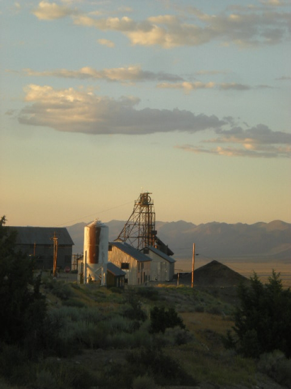 Ruby Mine At Sunset