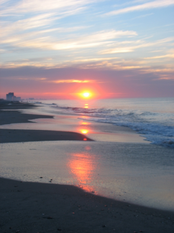 Beautiful Sunrise In Myrtle Beach