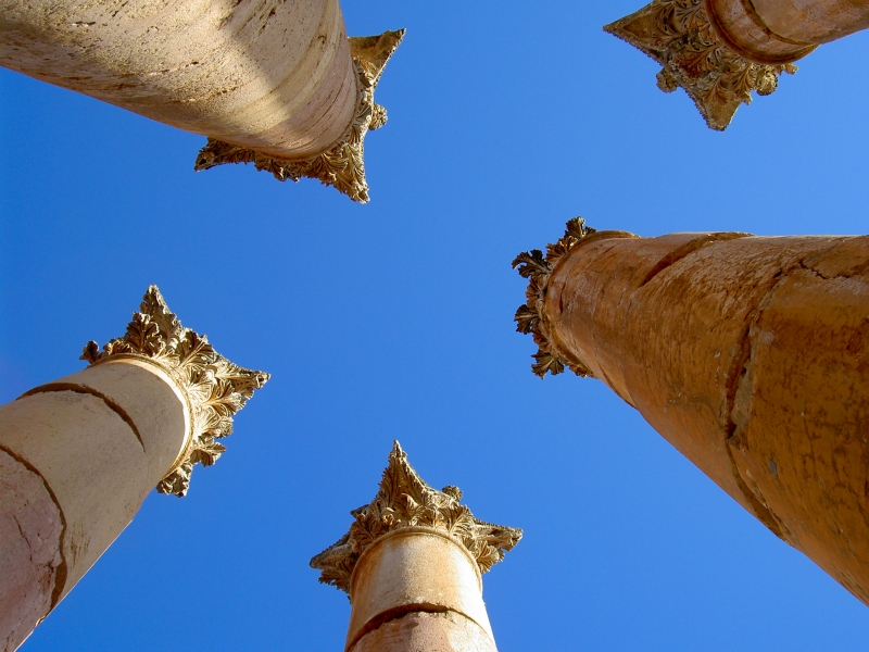 Columns To The Sky