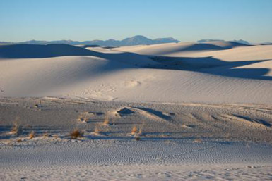 Loop Drive, White Sands, Nm National Monument
