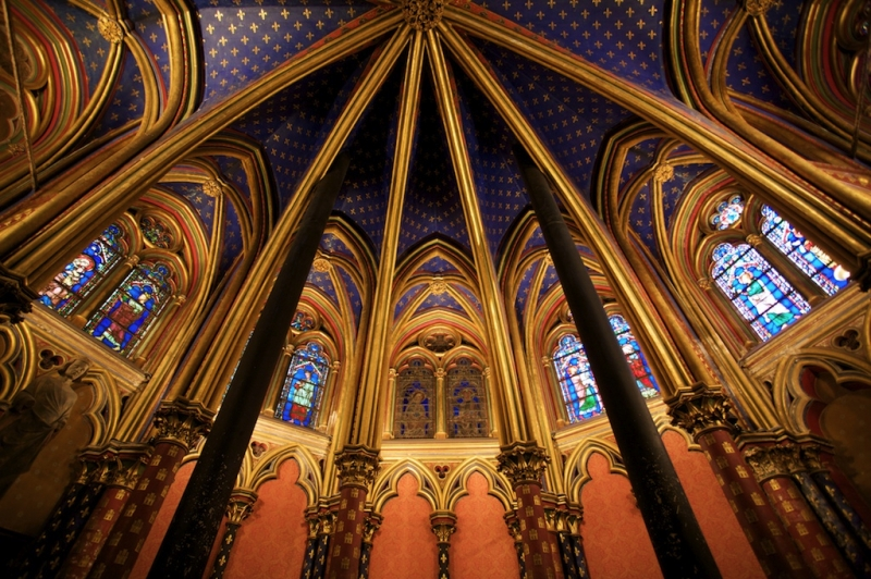 Sainte-chapelle Church Paris
