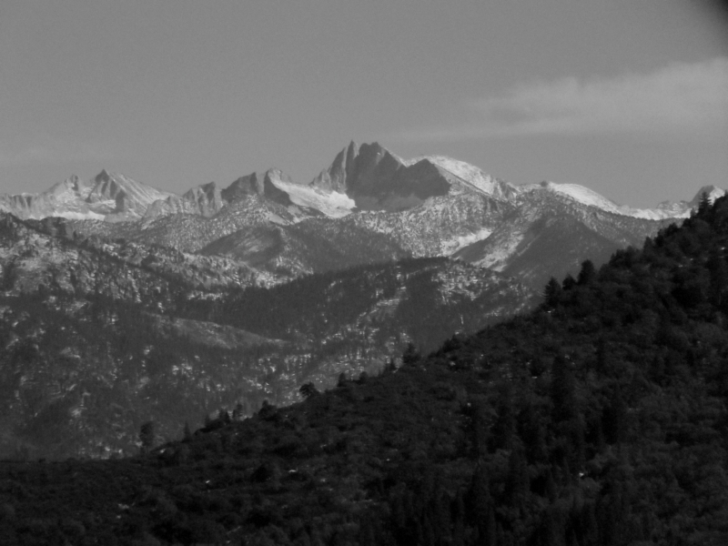 A View Of Kings Canyon National Park