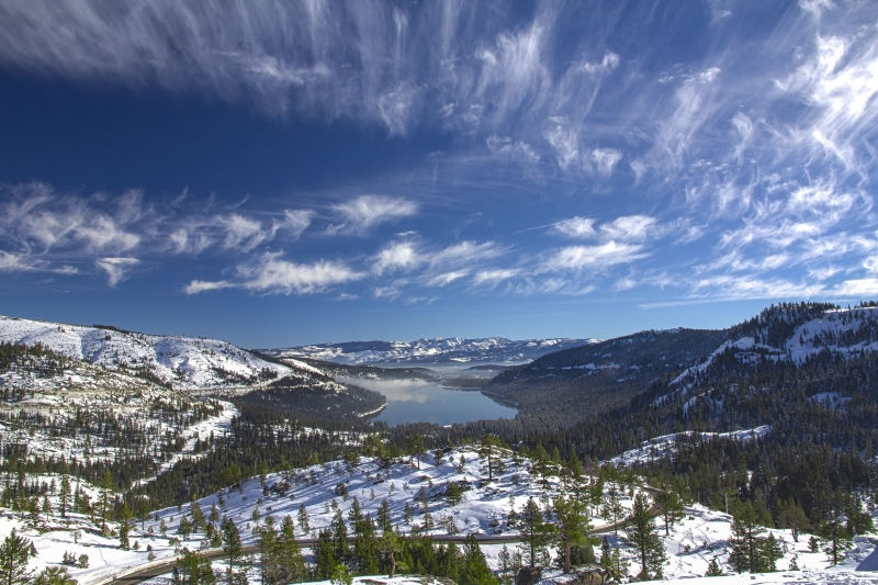 Donner Lake-fresh Winter