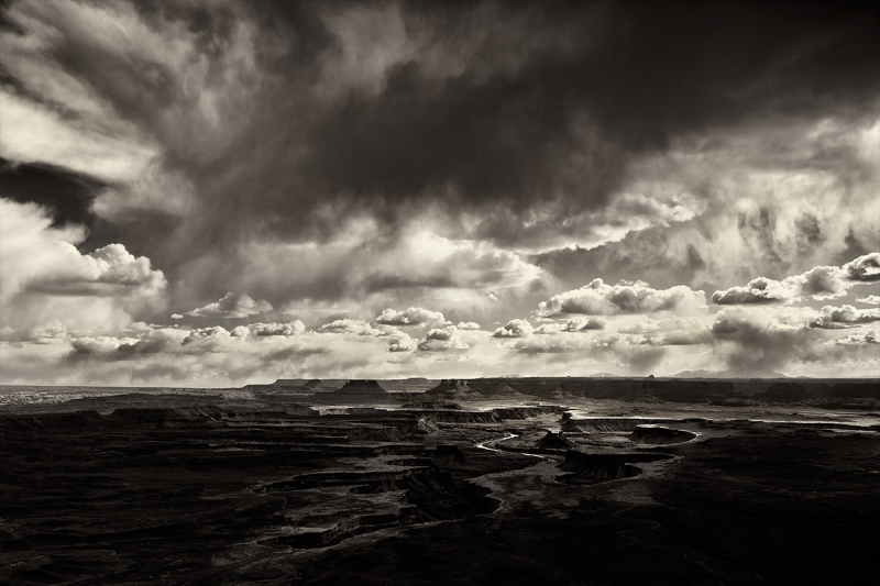 Rainstorm Over Green River, Canyonlands National Park