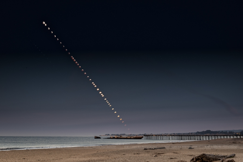 Lunar Totality Sequence 2015